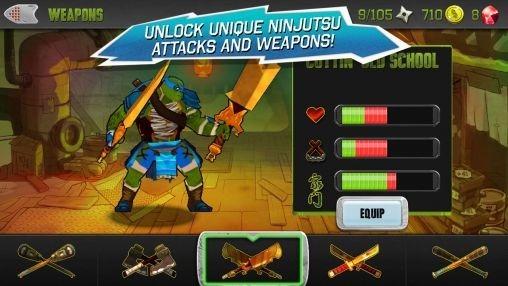 Teenage Mutant Ninja Turtles Android Game Image 1