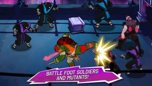 Teenage Mutant Ninja Turtles Android Game Image 2