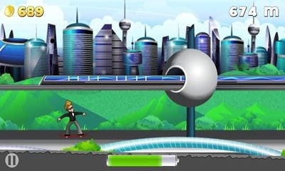 Hoverboard Hero Android Game Image 1
