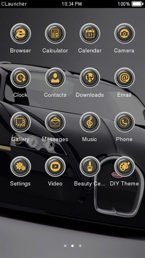 BMW CLauncher Android Theme Image 2