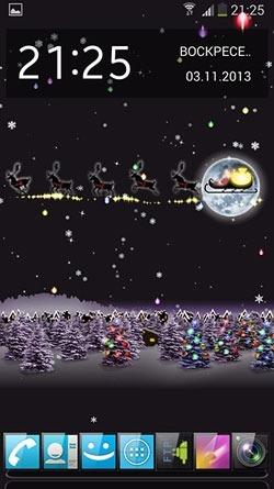 Christmas Santa HD Android Wallpaper Image 1
