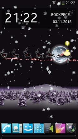Christmas Santa HD Android Wallpaper Image 2