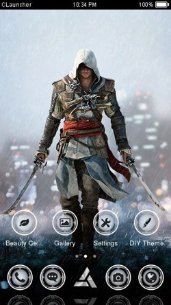 Assassins Creed CLauncher Android Theme Image 1