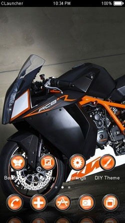 RCB Bike CLauncher Android Theme Image 1