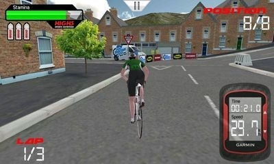 CRC Pro-Cycling Android Game Image 1