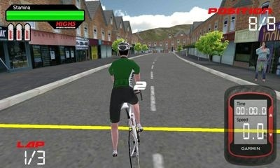 CRC Pro-Cycling Android Game Image 2