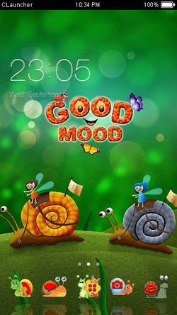Good Mood CLauncher Android Theme Image 1