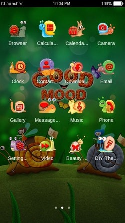 Good Mood CLauncher Android Theme Image 2