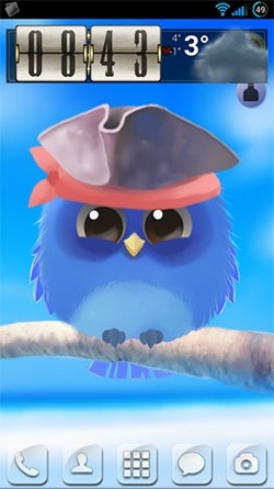 Little Sparrow Android Wallpaper Image 1