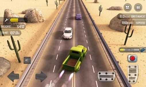 Race The Traffic Nitro Android Game Image 1