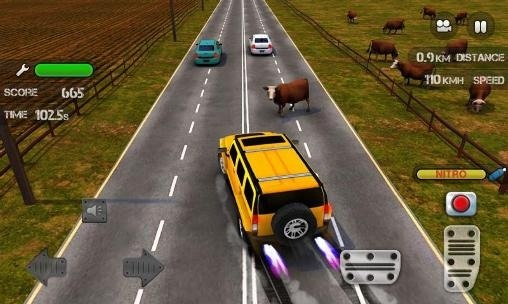 Race The Traffic Nitro Android Game Image 2