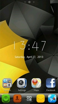 Calm Go Launcher EX Android Theme Image 1