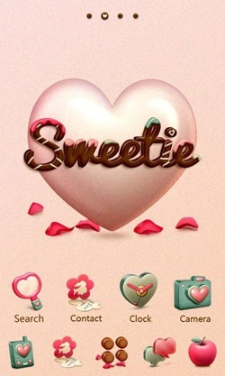 Sweetie Go Launcher EX Android Theme Image 1