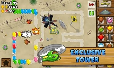 Bloons TD 5 Android Game Image 1