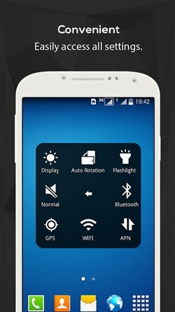 EasyTouch (Holo Style) Android Application Image 2