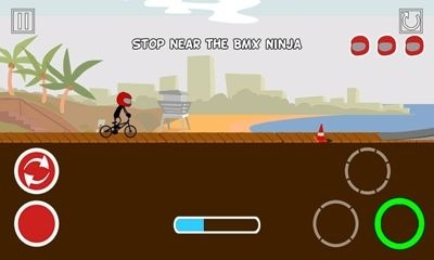 Pocket BMX Android Game Image 2