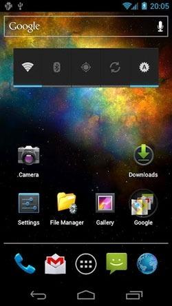 Vortex Galaxy Android Wallpaper Image 2