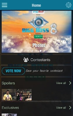 Bigg Boss Official Android Application Image 1