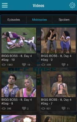 Bigg Boss Official Android Application Image 2