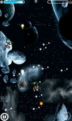 Galaxy Shooter Android Game Image 1
