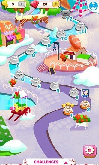 Cupcake Mania: Christmas Android Game Image 1