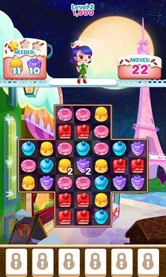 Cupcake Mania: Christmas Android Game Image 2
