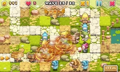 Elf Defense Android Game Image 1