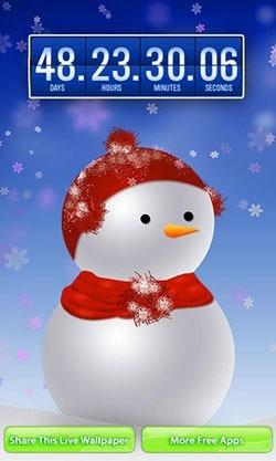 Christmas: Countdown Android Wallpaper Image 1