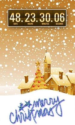 Christmas: Countdown Android Wallpaper Image 2