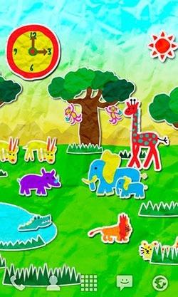 Paper Safari Android Wallpaper Image 1