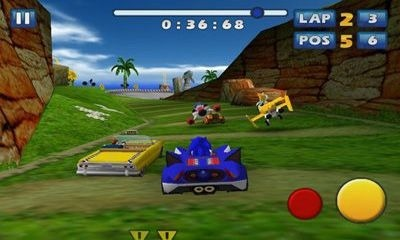 Download Free Android Game Sonic & SEGA All-Stars Racing - 4111
