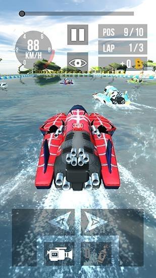 Thumb Boat Racing HD Android Game Image 1
