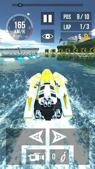 Thumb Boat Racing HD Android Game Image 2