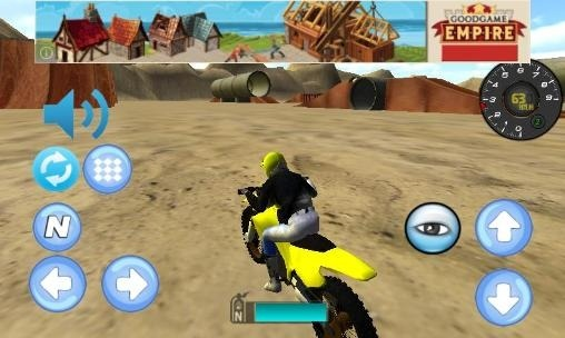 Bike Racing: Motocross 3D Android Game Image 1