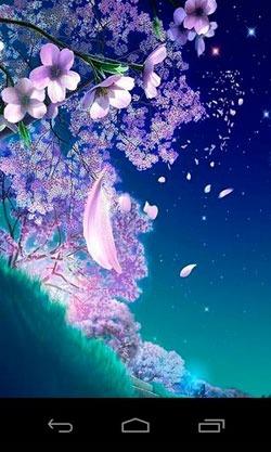 3D Sakura Magic Android Wallpaper Image 1