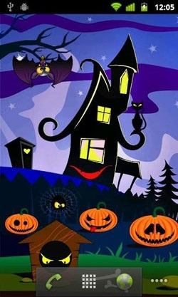 Halloween Pumpkins Android Wallpaper Image 2