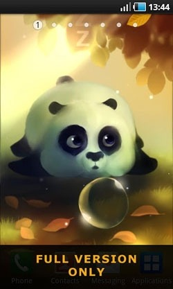 Panda Dumpling Android Wallpaper Image 1
