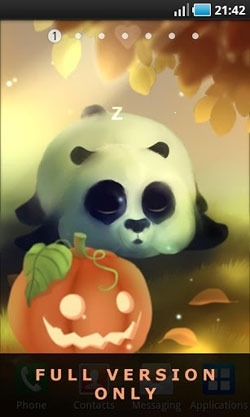 Panda Dumpling Android Wallpaper Image 2