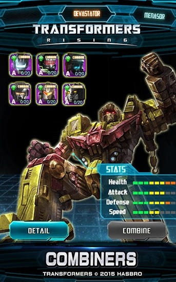 Transformers: Rising Android Game Image 1