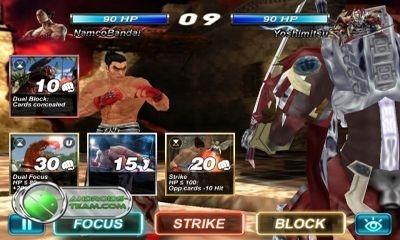Tekken Card Tournament Android Game Image 1