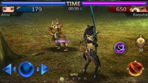 Hunting Girls: Action Battle Android Game Image 1