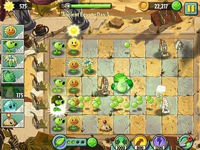 Plants Vs. Zombies 2: It's About Time Android Game Image 1