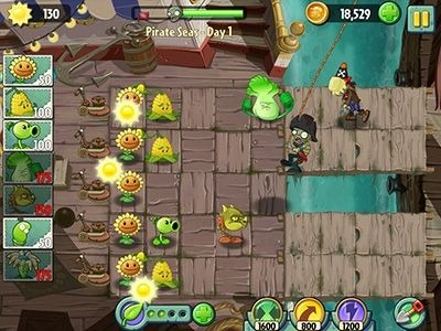 Plants Vs. Zombies 2: It's About Time Android Game Image 2