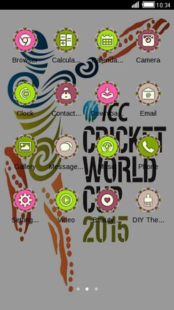World Cup 2015 CLauncher Android Theme Image 2