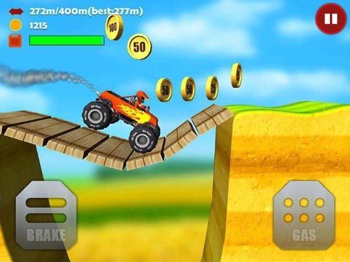 Hill Climb 3D: Offroad Racing Android Game Image 1