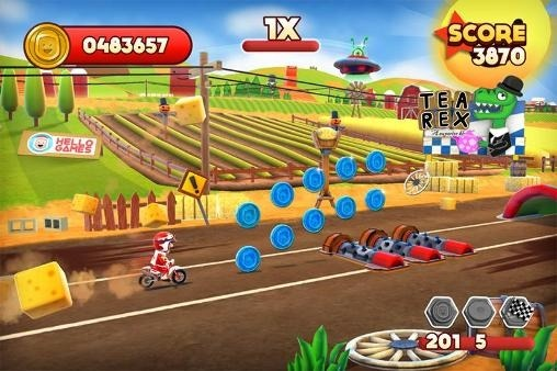 Joe Danger Android Game Image 1