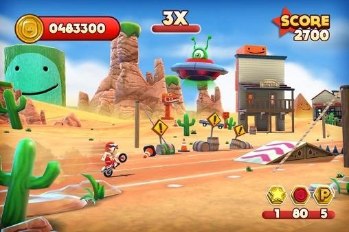 Joe Danger Android Game Image 2