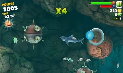 Hungry Shark Evolution Android Game Image 2