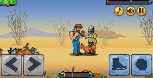 Chuck vs Zombies Android Game Image 2