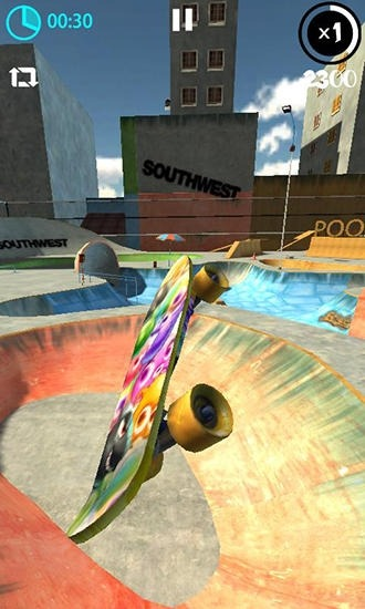 Real Skate 3D Android Game Image 1